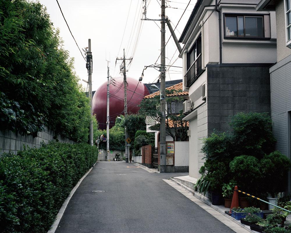 Paysages urbains, Tokyo, Japon 2000.