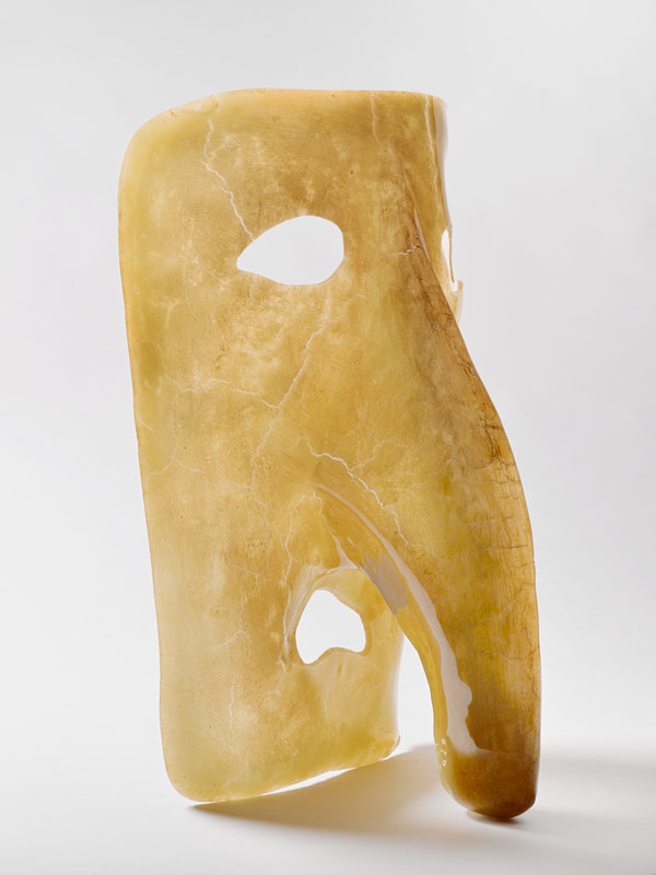 """Gaetano PESCE, (1939- ) Vase """"Bautta"""", 1992. Musée de la Faïence, Marseille."""