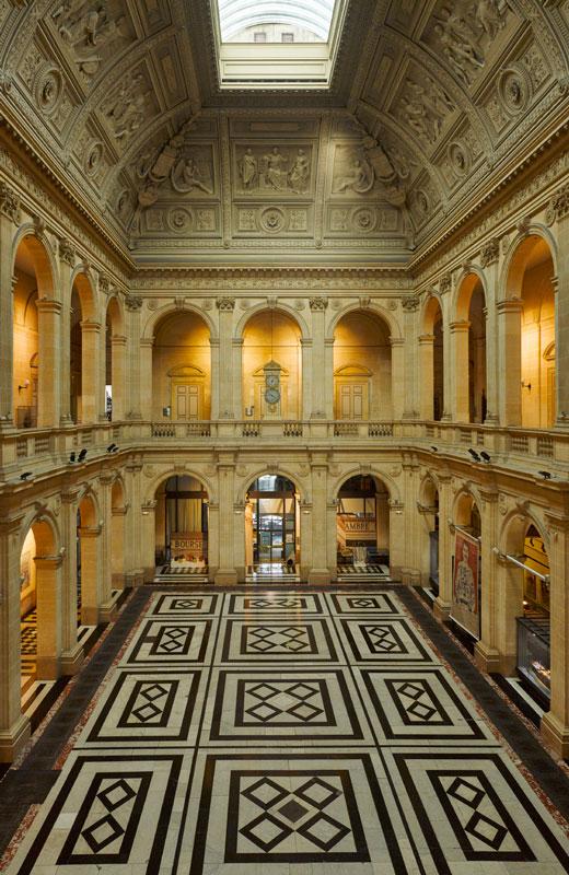 CCI MARSEILLE, Palais de la Bourse, Marseille.