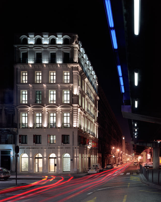 Architectes : Leteissier et Corriol. DDJS, Marseille, la joliette.