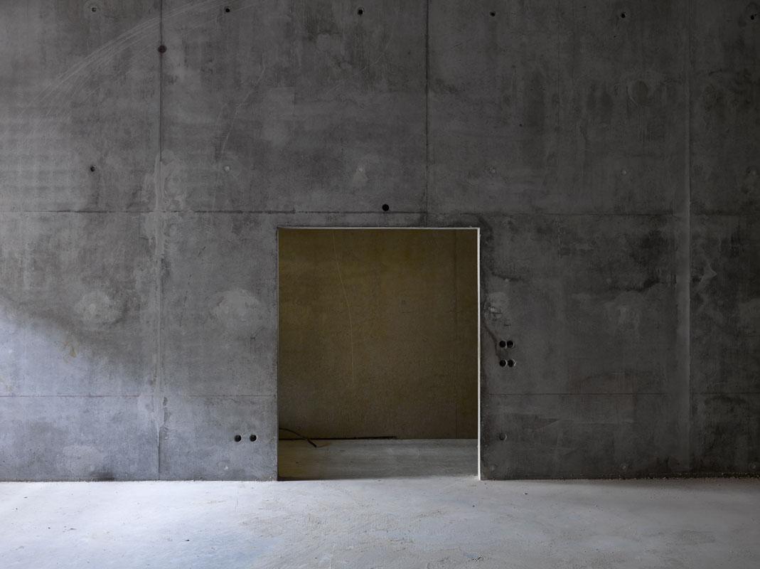Photographie d'architecture et chantier. Médiathèque de Pertuis. Photo David Giancatarina 2015