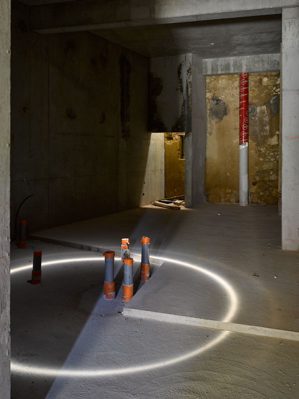 Photographie d'architecture et chantier. Médiathèque de Pertuis. Photo David Giancatarina 2015