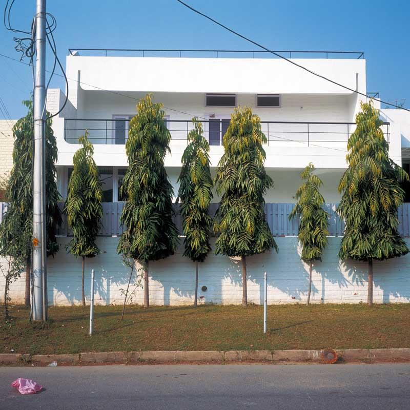 Paysages urbains, Chandigarh, Inde 2002
