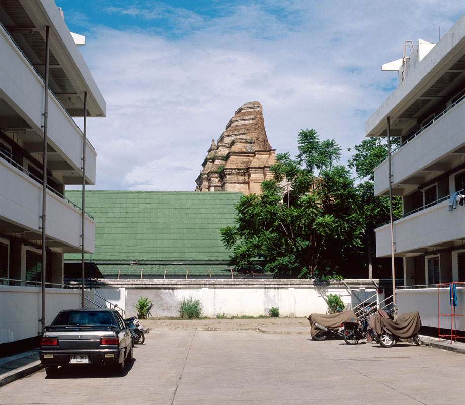 Paysages urbains, Thaïlande 2001.